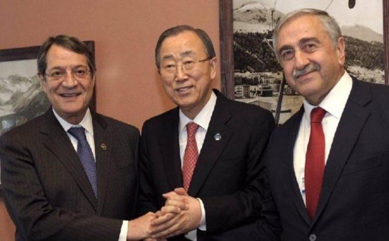 Εντατικές συνομιλίες μετά την τριμερή συνάντηση Μπαν – Αναστασιαδη – Ακιντζί στον ΟΗΕ