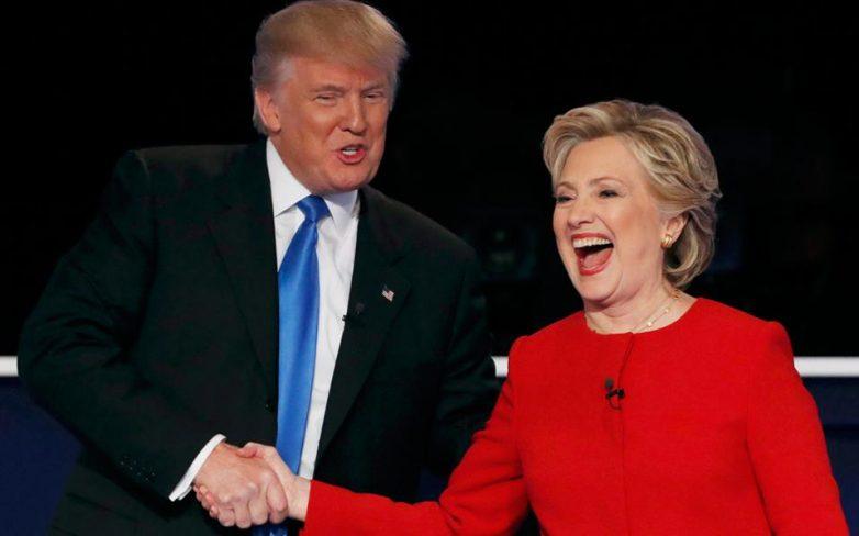 Σε υψηλούς τόνους η πρώτη τηλεμαχία Τραμπ – Κλίντον