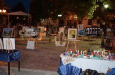 Ολοκληρώθηκε η έκθεση εικαστικών στην Πλατεία Βελεστίνου