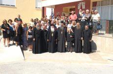 Mε τις εθελόντριες των Κατασκηνώσεων στην Ιερά Μητρόπολη Κίτρους  ο κ. Ιγνάτιος