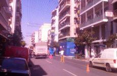 Κυκλοφοριακό χάος στο κέντρο του Βόλου