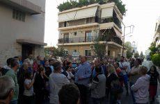 Στη συγκέντρωση διαμαρτυρίας των κατοίκων των Αγ. Αναργύρων ο Μπέος
