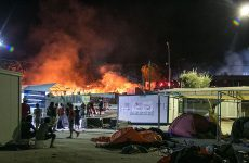Παρανάλωμα του πυρός το hot spot στη Μόρια