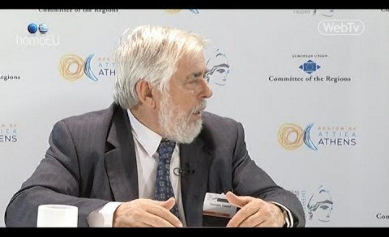 Στο Διεθνές Συνέδριο του Υπουργείου Εργασίας ο πρόεδρος της ΕΟΚΕ Γ. Ντάσης