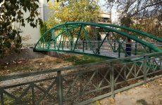 Κατασκευή  μεταλλικής πεζογέφυρας στον Κραυσίδωνα