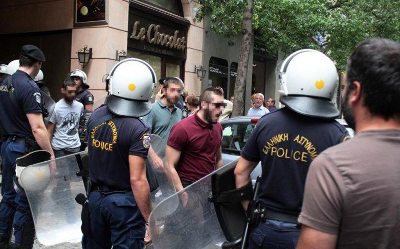 Εισβολή του Ρουβίκωνα στο υπουργείο Αμυνας