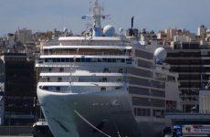 Στο Βόλο το κρουαζιερόπλοιο Silver Spirit