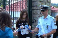 Διανομή ενημερωτικών φυλλαδίων από τη ΓΕΠΑΔ σε σχολεία της Θεσσαλίας