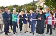 Τέσσερα νέα έργα στη Σκόπελο εγκαινίασε ο περιφερειάρχης Θεσσαλίας