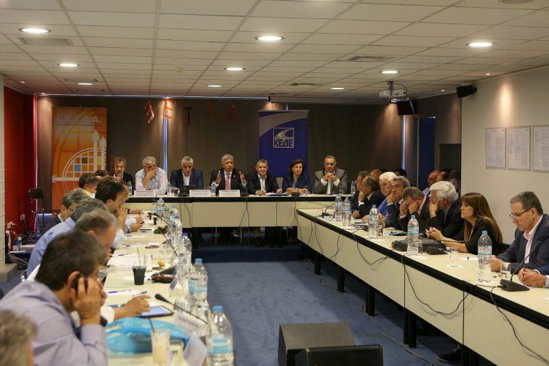 Συνάντηση υπουργού Εσωτερικών, Αλέξη Χαρίτση με το ΔΣ της ΚΕΔΕ