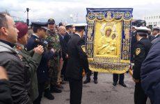 Ενθρονίστηκε σήμερα στο Μητροπολιτικό ναό εικόνα της Παναγίας Βηματαρίσσης