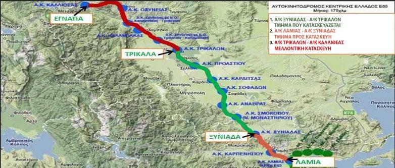 Το 2018 φεύγει με κύρωση της σύμβασης για τον Αυτοκινητόδρομο Κεντρικής Ελλάδος Ε65