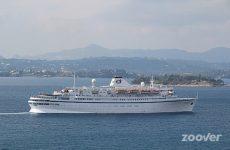 Nέα άφιξη κρουαζιερόπλοιου στο λιμάνι του Βόλου