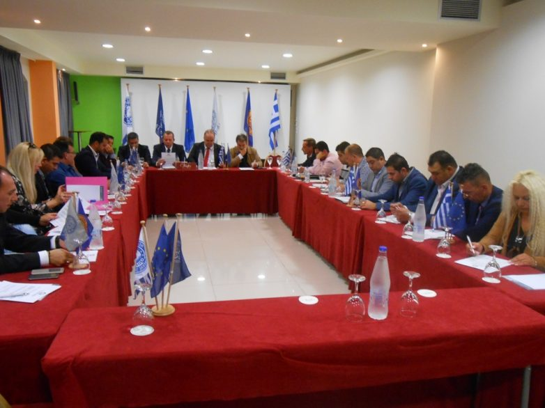 Συνεδρίαση του Δ.Σ. της Ένωσης Λειτουργών Γραφείων Κηδειών Ελλάδος με τους αντιπροέδρους