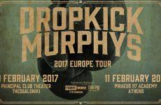 Σε Αθήνα -Θεσσαλονίκη οι DROPKICK MURPHYS