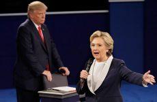 Προσβολές και αλληλοκατηγορίες στην δεύτερη τηλεμαχία Κλίντον και Τραμπ – Νικήτρια η Χίλαρι σε δημοσκόπηση του CNN