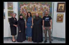 Λαμπρά τα εγκαίνια της Έκθεσης της Σχολής Αγιογραφίας «Διά χειρός»