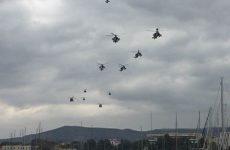 Αναγκαστική προσγείωση Apache σε χωράφια
