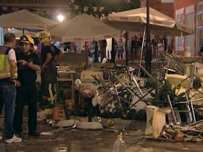 Ισπανία: 90 τραυματίες από έκρηξη φιάλης υγραερίου σε καφετέρια