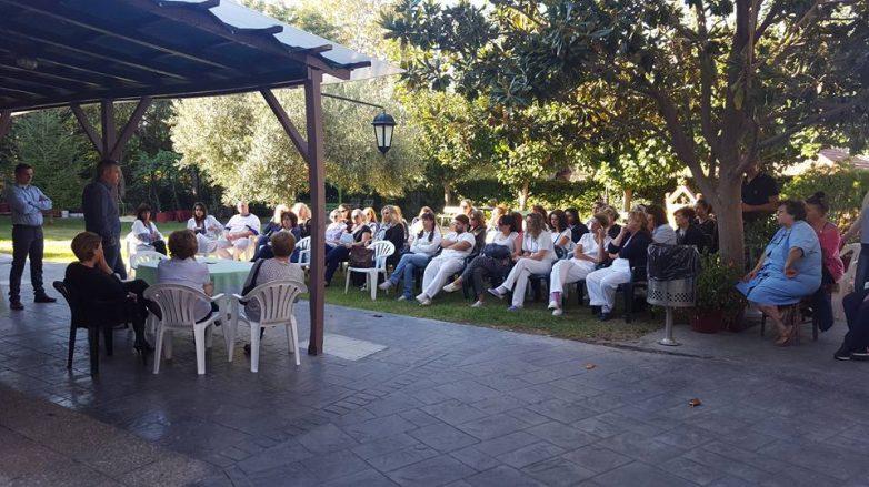 Eπίσκεψη Πολιτιστικού Συλλόγου Σοφαδιτών Μαγνησίας στο Γηροκομείο