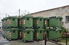 Εφοδιασμός 40 πλαστικών κάδων για τον δήμο Ρήγα Φεραίου