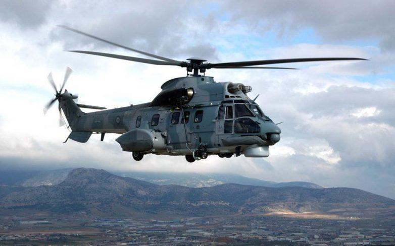 Αεροδιακομιδή βρέφους από τη Σκόπελο στην Αθήνα με Super Puma