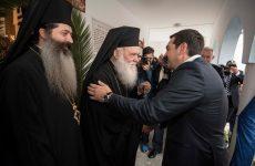 Ιερώνυμος στον Τσίπρα: Η διαφορά μας δεν πρέπει να μας χωρίζει, αλλά να μας ενώνει