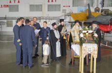 Οι προστάτες της Πολεμικής Αεροπορίας  τιμήθηκαν σήμερα στην 111 Π.Μ.