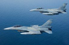 Αεροσκάφη από την 111 Π.Μ. αναχαίτισαν τουρκικά F16 βόρεια της Λέσβου