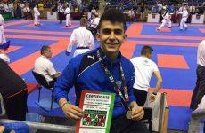 Αργυρό μετάλλιο ο Σιούρας στο διεθνές τουρνουά <<ΤΑΤΑΜΙ KARATE CUP>>