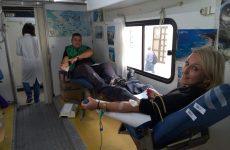 Εθελοντική αιμοδοσία για την ενίσχυση της  τράπεζας αίματος της Πυροσβεστικής Υπηρεσίας