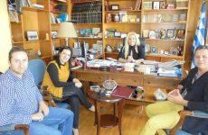 Συνάντηση Δωροθέας Κολυνδρίνη-Ένωσης Επαγγελματιών Βιοτεχνών και Εμπόρων Επαρχίας Αλμυρού