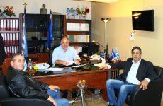Συνάντηση δημάρχου  Ρήγα Φεραίου  με τον Σύλλογο «Φίλων Ιαπωνικού Καράτε Στεφανοβικείου»
