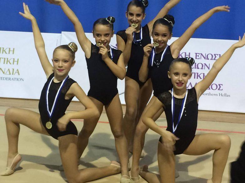 Χρυσό η ΓΕΒ Βόλου στο Πανελλήνιο Πρωτάθλημα Ανσάμπλ Βορείου Ελλάδος