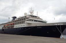 Στο Βόλο «έδεσε» το κρουαζιερόπλοιο «Minerva»