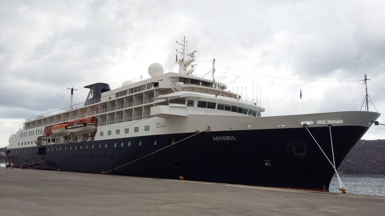 """Στο Βόλο """"έδεσε"""" το κρουαζιερόπλοιο """"Minerva"""""""