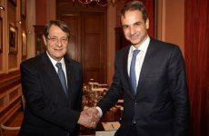 Συνάντηση Μητσοτάκη – Αναστασιάδη για το Κυπριακό