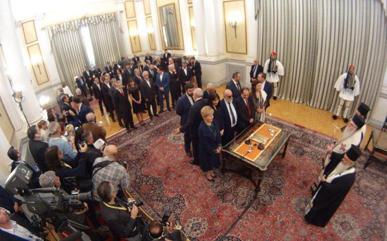 Ορκίστηκε η νέα κυβέρνηση του Αλέξη Τσίπρα