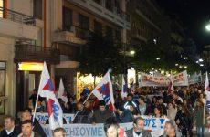 Πανθεσσαλικό συλλαλητήριο για την ανεργία  στη Λάρισα
