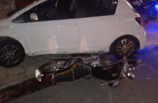Ηλικιωμένος οδηγός παραβίασε STOP στην Αναλήψεως