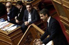 Η μάχη των πολιτικών αρχηγών στη Βουλή