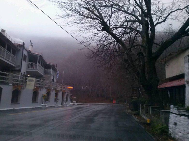 Eργασίες συντήρησης της επαρχιακής οδού ¨Αγριά-Δράκεια¨
