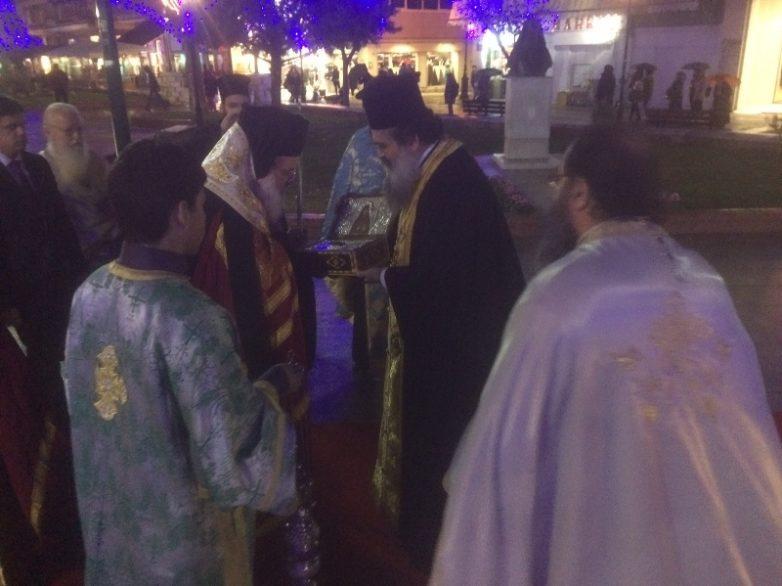 Στον Μητροπολιτικό Ναό το Ιερό Λείψανο του Οσίου Νικηφόρου του Λεπρού