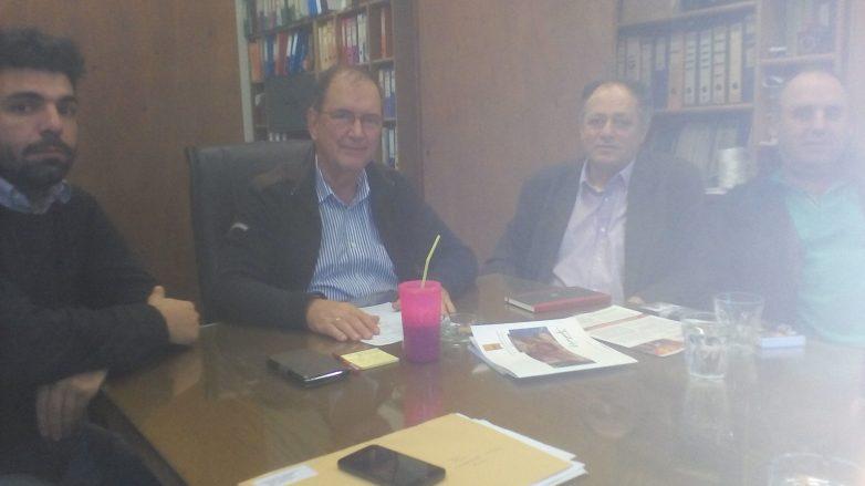 Τα ζητήματα που απασχολούν τον Συνεταιρισμό και τα μέλη του τέθηκαν ενώπιον  βουλευτή Μαγνησίας και τοπικής αντιπροσωπείας