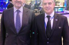 Με τον επίτροπο Π. Μοσκοβισί συναντήθηκε  ο πρόεδρος της ΕΝΠΕ Κ. Αγοραστός στις Βρυξέλλες