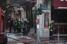 Φωτιά σε εγκαταλελειμμένο κτήριο στα Παλιά