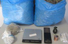 Συνελήφθη 28χρονος  στη Λάρισα με μεγάλη ποσότητα κάνναβης