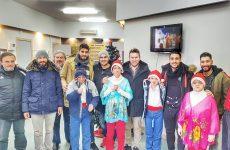 Ο Ολυμπιακός Βόλου δίπλα στα παιδιά του Ιδρύματος Άσπρες Πεταλούδες