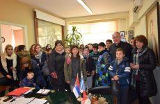 Επίσκεψη μαθητών δημοτικών σχολείων στο δήμο Ρήγα Φεραίου για τη Χάρτα του Ρήγα