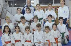 Εξετάσεις προαγωγής βαθμών εγχρώμων ζωνών στο Shinkyokushinkai